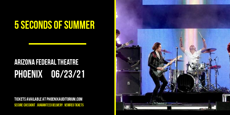5 Seconds of Summer at Arizona Federal Theatre