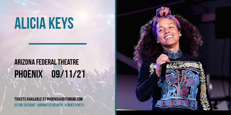 Alicia Keys at Arizona Federal Theatre