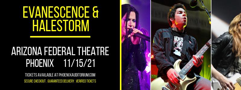 Evanescence & Halestorm at Arizona Federal Theatre