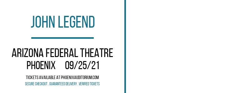 John Legend at Arizona Federal Theatre